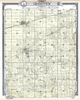 Grandview Township Edgar County 1910 Illinois  map online